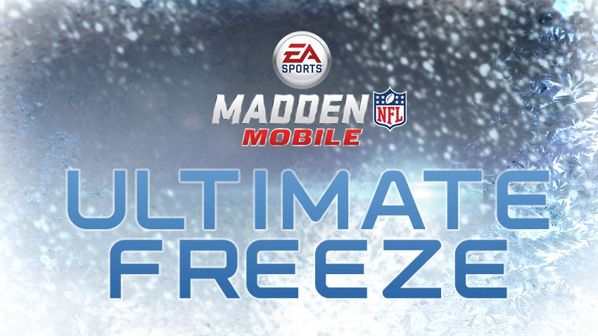 Madden Mobile Ultimate Freeze