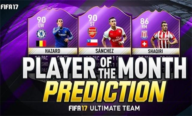 FIFA 17 POTM Predictions for December