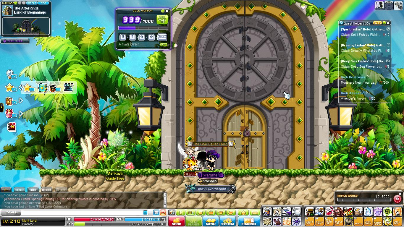 Maplestory Tips On How To Get All Keys In Afterland