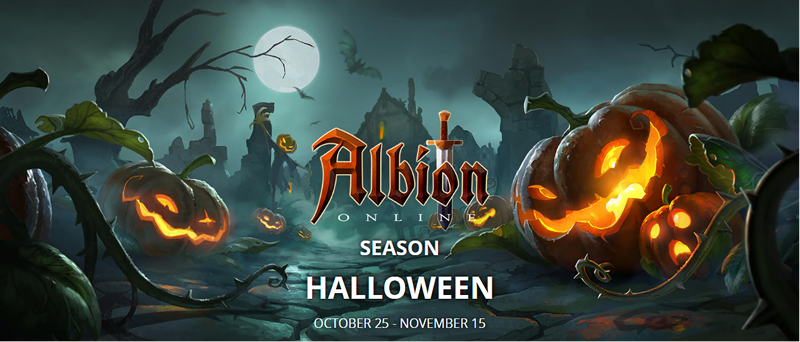 It's Halloween In Albion Online - Grab Special Bonuses