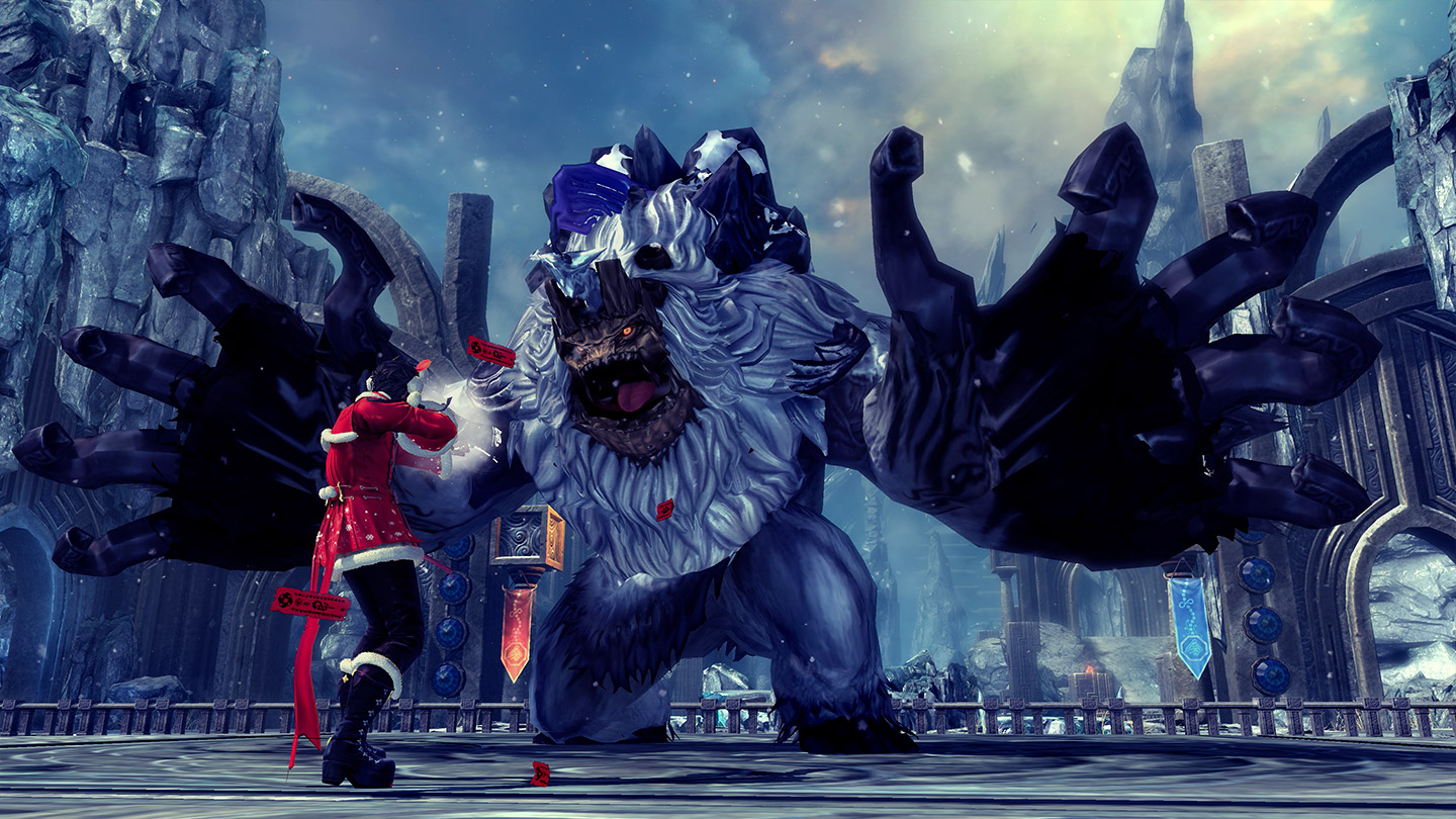 Blade and Soul winter festival