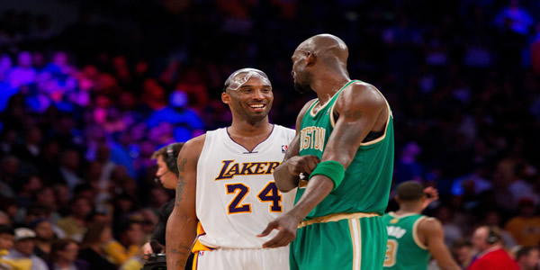 Kevin Garnett And Kobe Bryant Are Already In NBA 2K18 Rosters