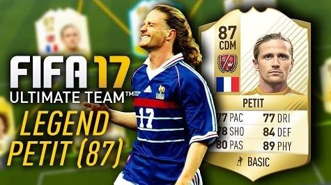 FIFA 17 legend Petit
