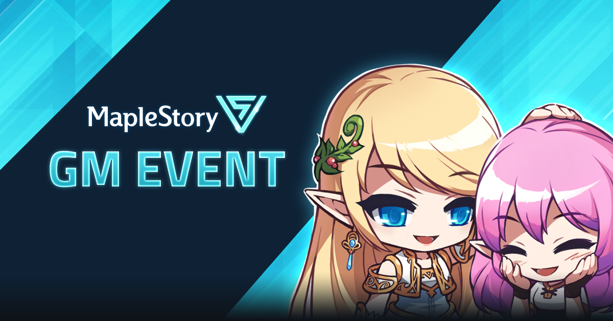 MapleStory V Appreciation Events Available Now