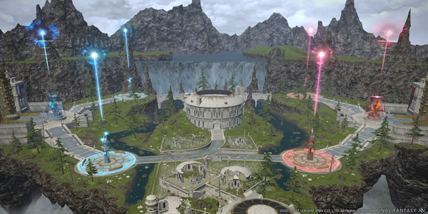 FFXIV The Upcoming Patch 4.15: A 24 VS 24 Large-Scale PvP Feature