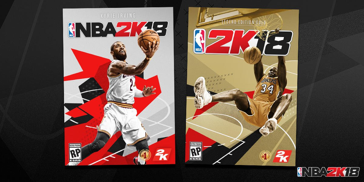 Kyrie Irving Will Grace The Cover Of The Standard Edition Of NBA 2K18