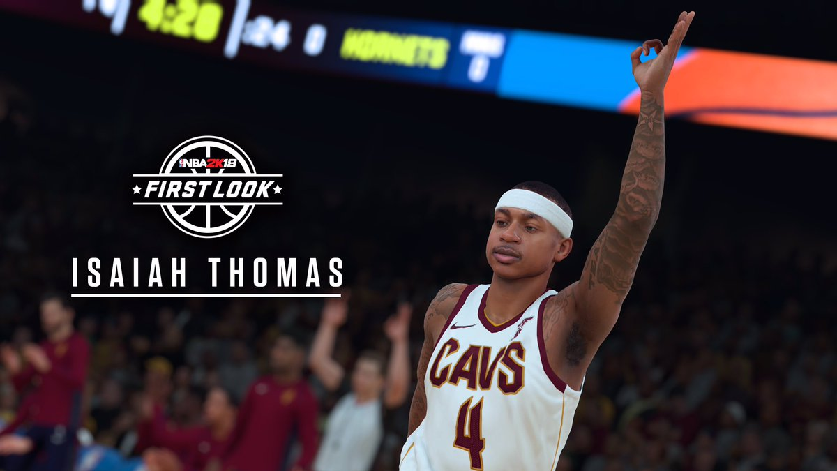 NBA 2K18 First Look And Player Ratings - Round 5