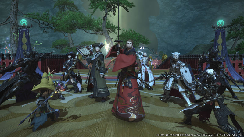 Final Fantasy XIV Was Hijacked By DDoS Attack