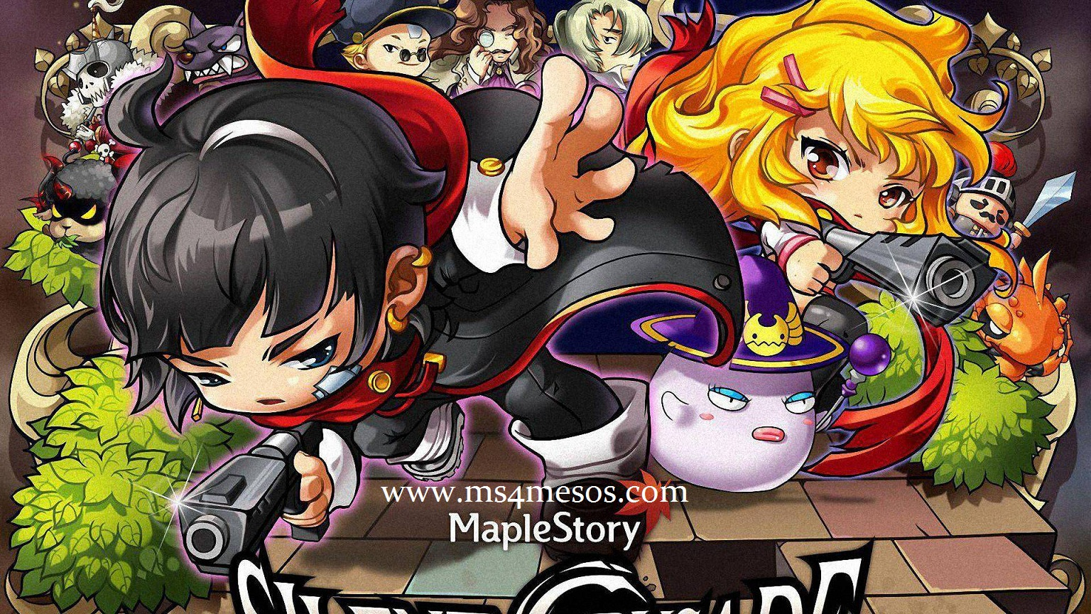 How Do You Celebrate for The 12th Anniversary of MapleStory