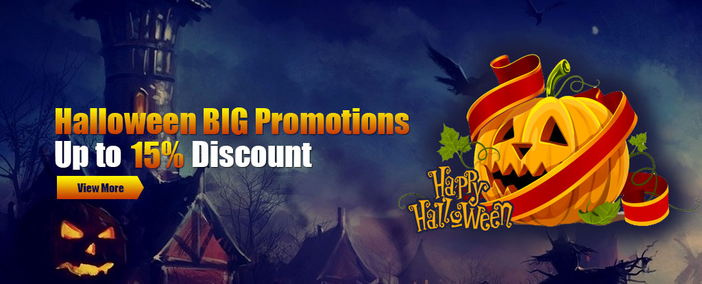 Usfine Halloween BIG Promotions - Up to 15% Discount