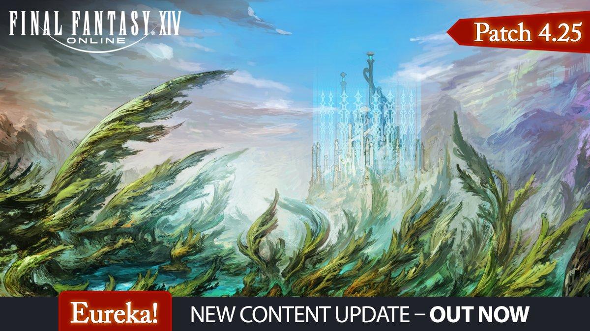 Final Fantasy XIV - Explore Eureka Anemos Now