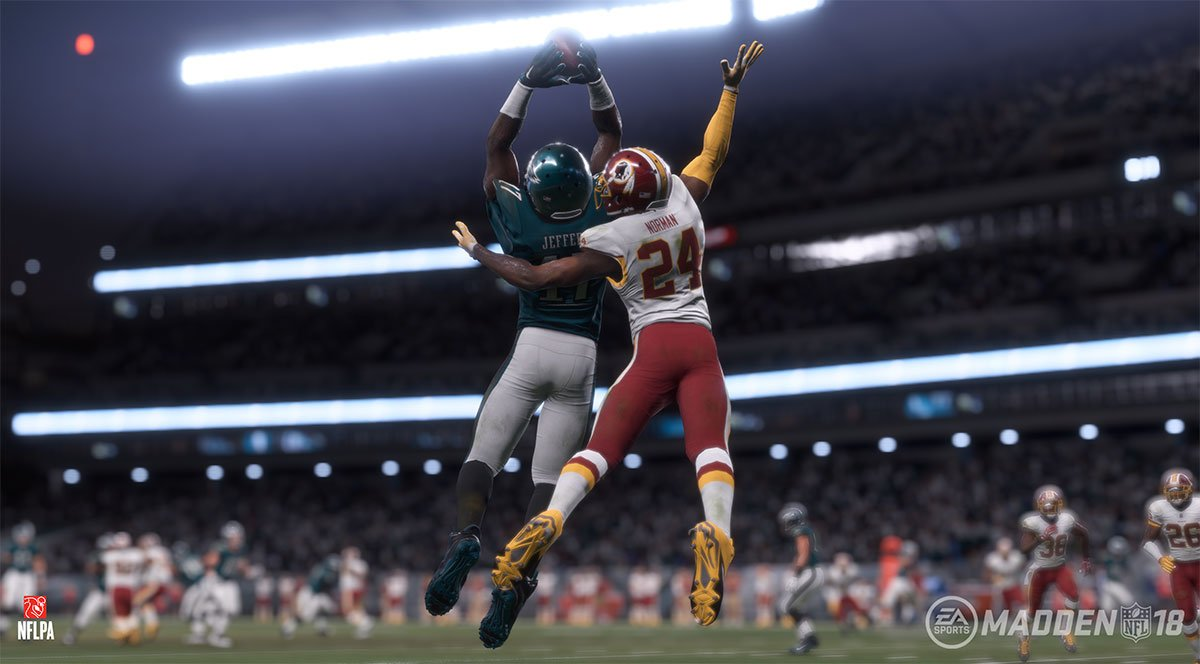 Electronic Arts Announced The Release Of Madden NFL 18