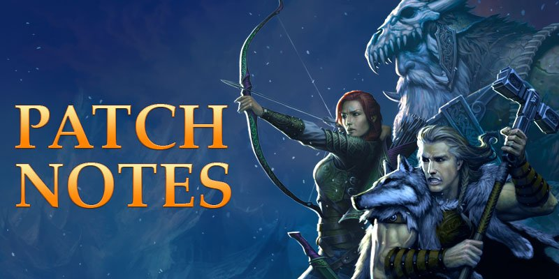 Neverwinter patch notes