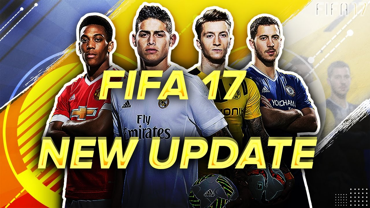 FIFA 17 Title Update 4 Revealed for PC