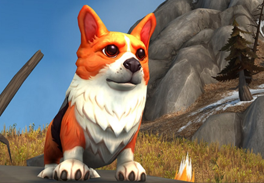world of warcraft corgi pup