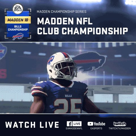 Madden NFL 18 Buffalo Bills Club Championship
