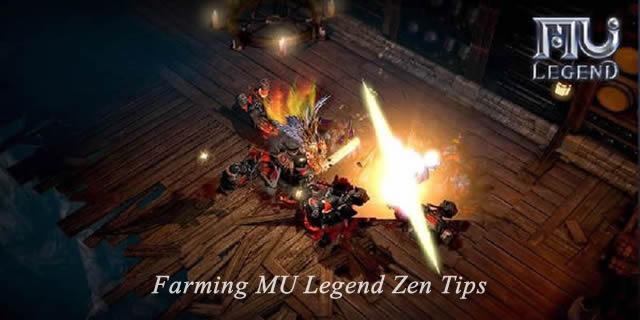 Farming MU Legend Zen Tips