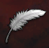 Egret Feather*100